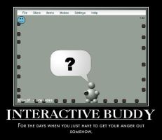 Interactive Buddy Poster by The5thFiend