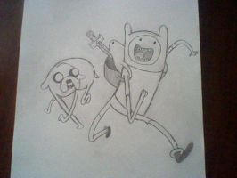 Finn and Jake by Jaemi-chan1091