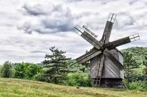 Old wooden wild mill by RiegersArtistry