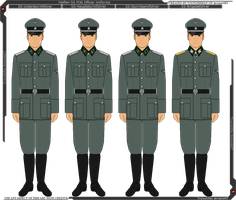 Waffen-SS M36 Officer Uniforms by Grand-Lobster-King