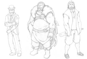 character sketches C.08-10 by HolyMane