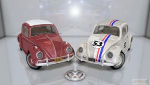 Free 3D Add-On For Volkswagen Beetle 1963: Sunroof by DecanAndersen
