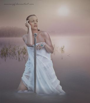 The Lady of the Lake by annewipf
