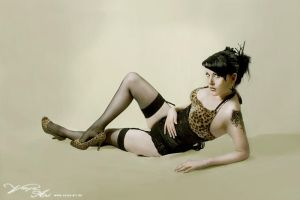 Pin Up Leo I by VenjaPhotography