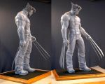 Wolverine maquette by MarkNewman