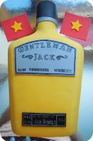 Gentleman Jack Cake by cake4thought