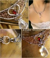 Twilight Wedding Necklace by popnicute