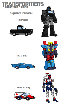 Autobots (Sodortron Rising) Sprite Preview by JamesFan1991