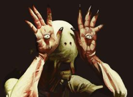The Pale Man by Pinflux