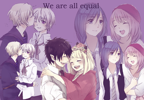 We are all equal (spirit day) by yurachilovee