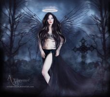 black widow angel by annemaria48