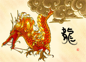 Year of the Dragon by batcheeks