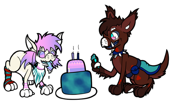 Happy Belated Birthday by foxinacup