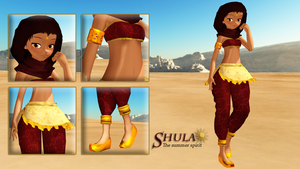 MOTME - Shula - The Summer Spirit by TheLadyClockWork