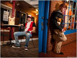 Pokemon: Red and Green by CosplayerWithCamera