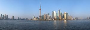 Shanghai View by zjulia
