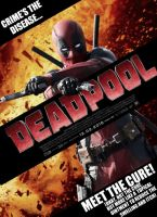 Deadpool Movie Poster by Jo7a