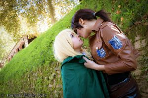 Attack on Titan (Lucca2014) Ymir and Historia 03 by Noriyuki83