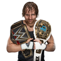Dean Ambrose WWE and IC Champ 2017 by LunaticDesigner