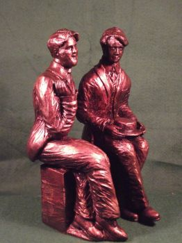 Oscar Wilde and Bosie LGBT History by Pinkpasty