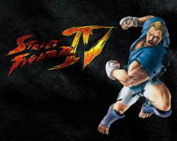 Street Fighter IV Abel by ManeFunction