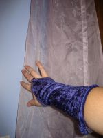 Hand and Curtain 4 by SerendipityStock