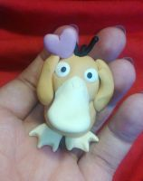 Valentine Psyduck by Tinebell