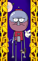 Regular the Show, Benson Stage by DogmanSP