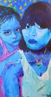 My sister and Me by ameye