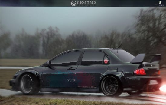 Mitsubishi Lancer Evolution 8y by DemoDesign