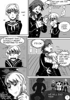 P4 Comic- No Way Back pg7 (LAST) by Mistynia