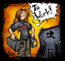 78. Working Hard by spookydoom
