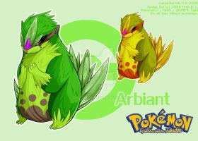 Fakedex 003: ARBIANT by Galbinus