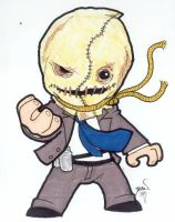 Chibi-Scarecrow 2. by hedbonstudios