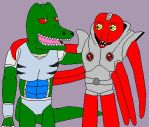Bio-Rex and Octoman are good friends by Badboylol