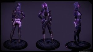 Tali'zorah posed by dannedadon