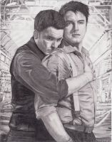 Jack Harkness and Ianto Jones by RachelWoodNM
