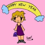 Happy NY everyone by Luyepii