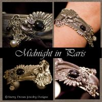 Midnight in Paris Bracelet by LeeAnneKortus