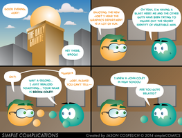 SC810 - Joey's Co-Worker by simpleCOMICS
