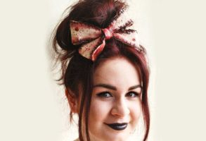 Zombie Bow by LouiseValerie