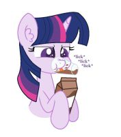Twily loves her chocolate milk by annasabi101