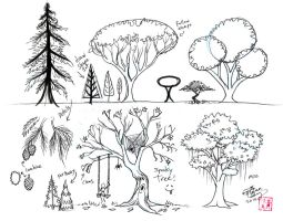 Draw Trees by Diana-Huang