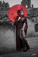 Gothic Geisha by LuntPhotography