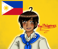 Nyo!Philippines doodle by melonstyle