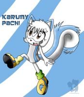 New OC: Karumy Pachi by HeroineMarielys