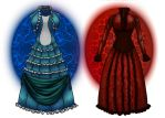Request: Gothic Victorian Dresses by ArousingSoul