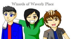Wizards of Waverly Place by Cruad828