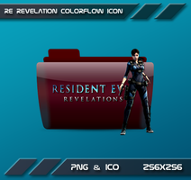 Colorflow Resident Evil Revelations by Dohc-WP