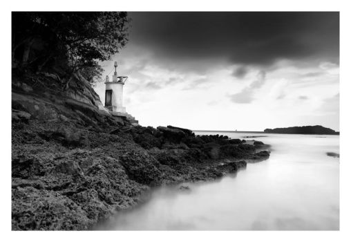 Lighthouse at Andaman by derozio